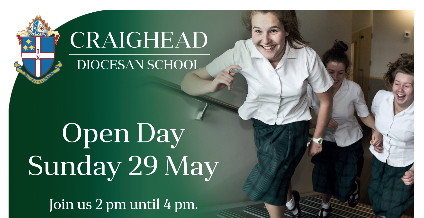 website open day ad