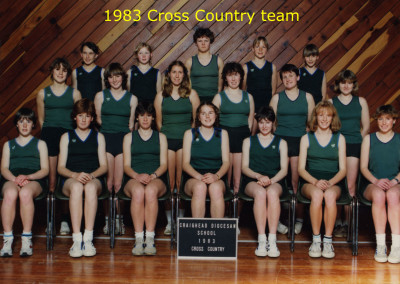 1983 Cross Country Team