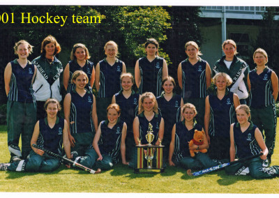 2001 First Eleven Hockey te