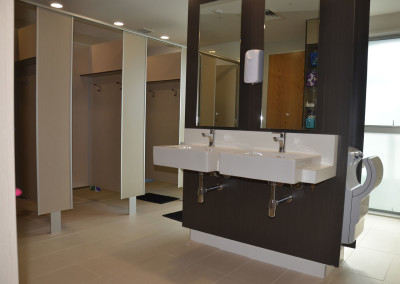 Bathroom Area in Senior Boarding Wing