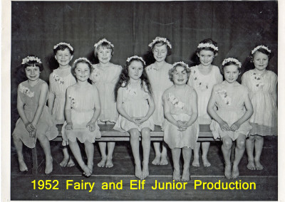 1952 Fairy and Elf Ballet Junior Production
