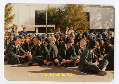 1985 Last day of Beret